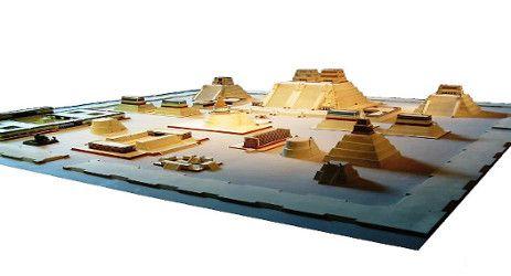 modelo a escala de tenochtitlan