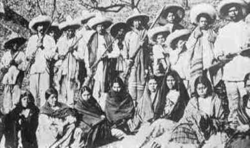 soldados revolucion mexicana